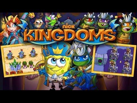 New Nickelodeon Kingdoms games for kids full episodes nick jr.
