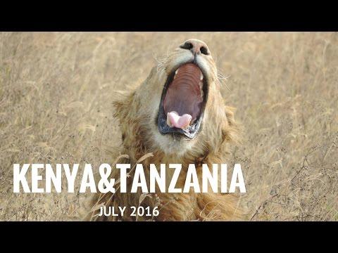 SAFARI KENYA & TANZANIA KANANGA JULY 2016