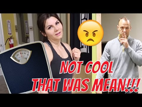 HUSBAND PRANKS WIFE WITH WEIGHT SCALE | THE LEROYS