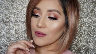 Rose Gold Eye Makeup Look | Stila Magnifecent Metals