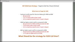 XAT 2018 Exam Strategy