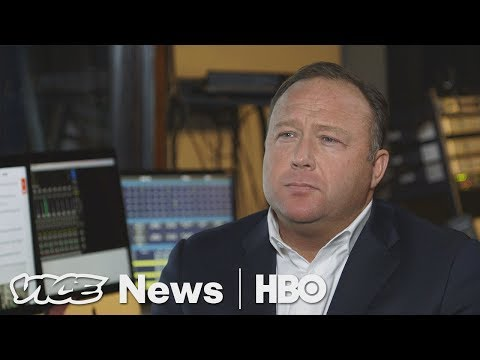 Alex Jones Says Trump Is Just The Start (HBO)