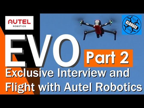 AUTEL EVO - Interview, Full Specs, and Flight (Part 2)