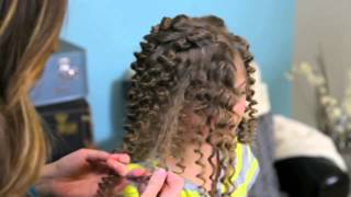 Brave Inspired Hairstyle Tutorial   A CuteGirlsHairstyles Disney Exclusive Thumbnail