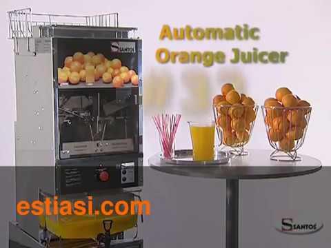 Αυτόματη πρέσα πορτοκαλιών SANTOS απο την estiasi.com