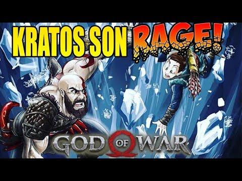 THE BOY BRINGS ABOUT SHAME! God Of War Hard Mode Rage! (#5)