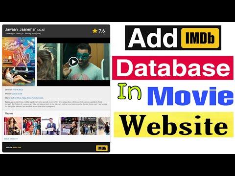 Add IMDB Database In Movie Website | Import IMDB Database | Good Knowledge