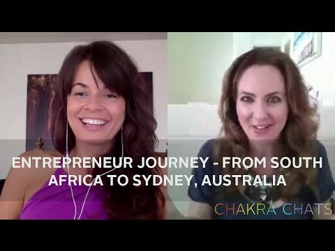 Entrepreneur Journey   from South Africa to Sydney, Australia