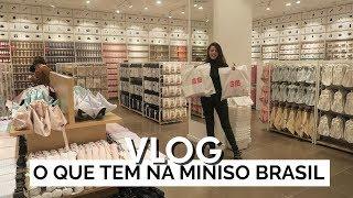 Video O QUE TEM NA MINISO BRASIL | Vlog #73 | Lia Camargo download MP3, 3GP, MP4, WEBM, AVI, FLV Agustus 2017