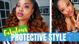 NO WIGS, NO WEAVES Hair Style | Hergivenhair