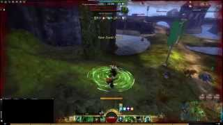 Guild Wars 2 WvW - Beta Weekend 2 GS Reaper Gameplay Solo Roaming Fights Necro PoV 1080p60