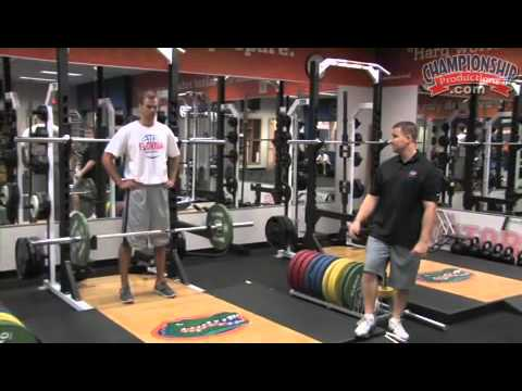 Improve Your Vertical With A Weight Training Exercise!