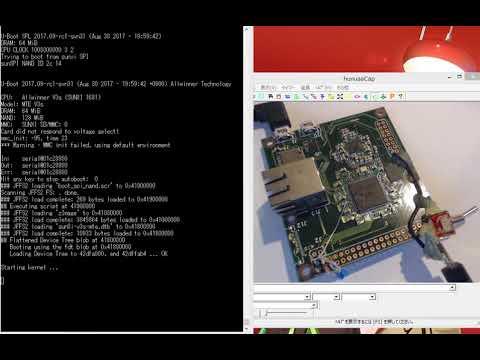 Allwinner V3s SPI NAND Flas boot Linux