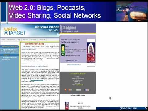 Blogs, Podcasts, Video Sharing and Other Social Media Marketing