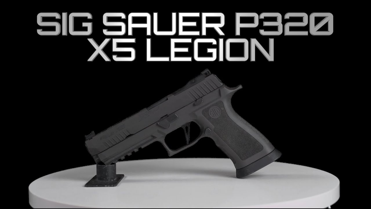 Sig P320 X5 Legion Disassembly/Reassembly