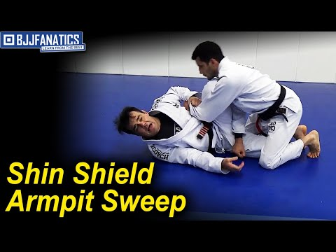 Shin Shield Armpit Sweep by Celso Venicius