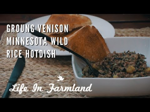 Very Tasty And Simple Ground Venison Recipe - MN Wild Rice HotDish