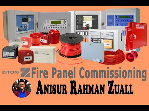 Ziton Fire Panel Software Commissioning | Ziton ZP3 Fire Alarm Control Panel Computer Software .