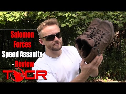 Salomon Forces Speed Assaults - Review