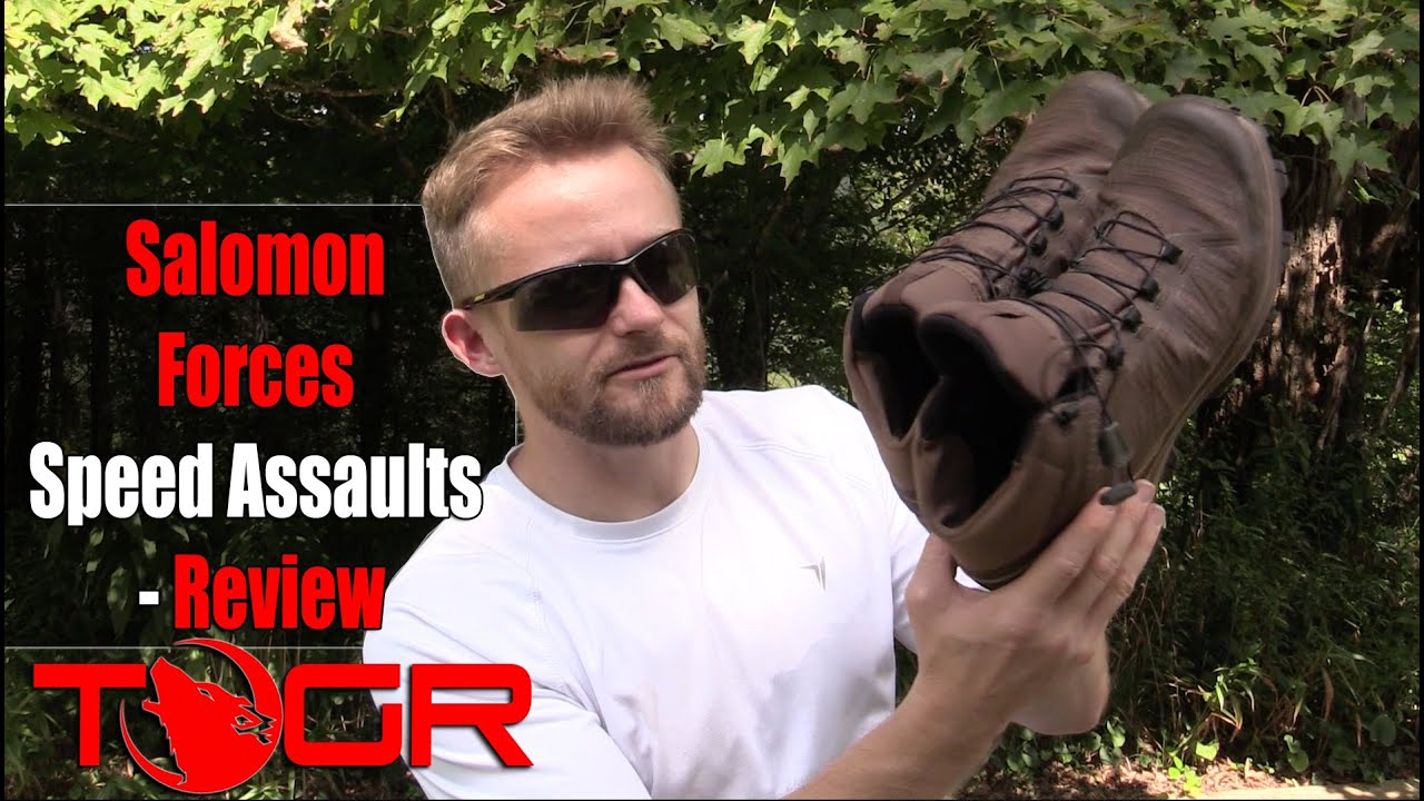 cf2bc892fec2 Light and Fast! - Salomon Forces Speed Assaults - Review - YouTube