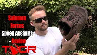 Light and Fast! - Salomon Forces Speed Assaults - Review