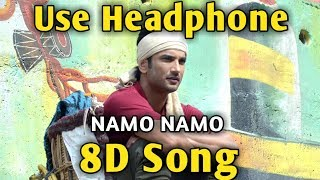 Cover images Namo Namo 🎧 8D song 🎧 Kedarnath | Music Live-India