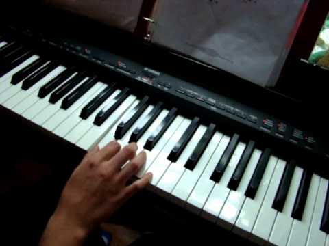 TUTORIAL-How To Play Fire By Augustana On The Piano