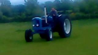 Fastest fordson major tractor in ireland!