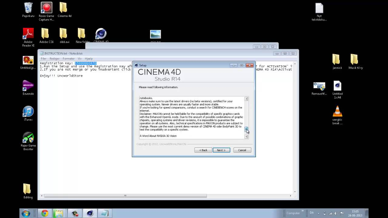 cinema 4d serial