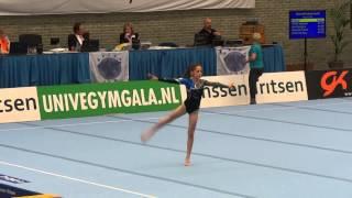 Ezra vloer NK turnen 2014 pupil 2 N2