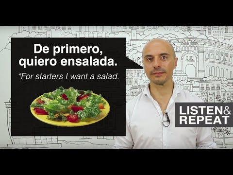 Learn Spanish: (54) In the restaurant