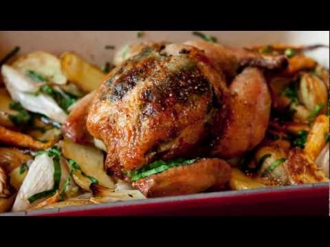 Le Creuset Kitchen Sessions With Joseph Lenn - Roasted Chicken