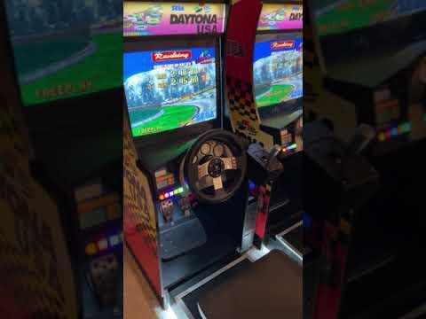 Twin Daytona USA Arcade1Up Custom Mod from Funky Road