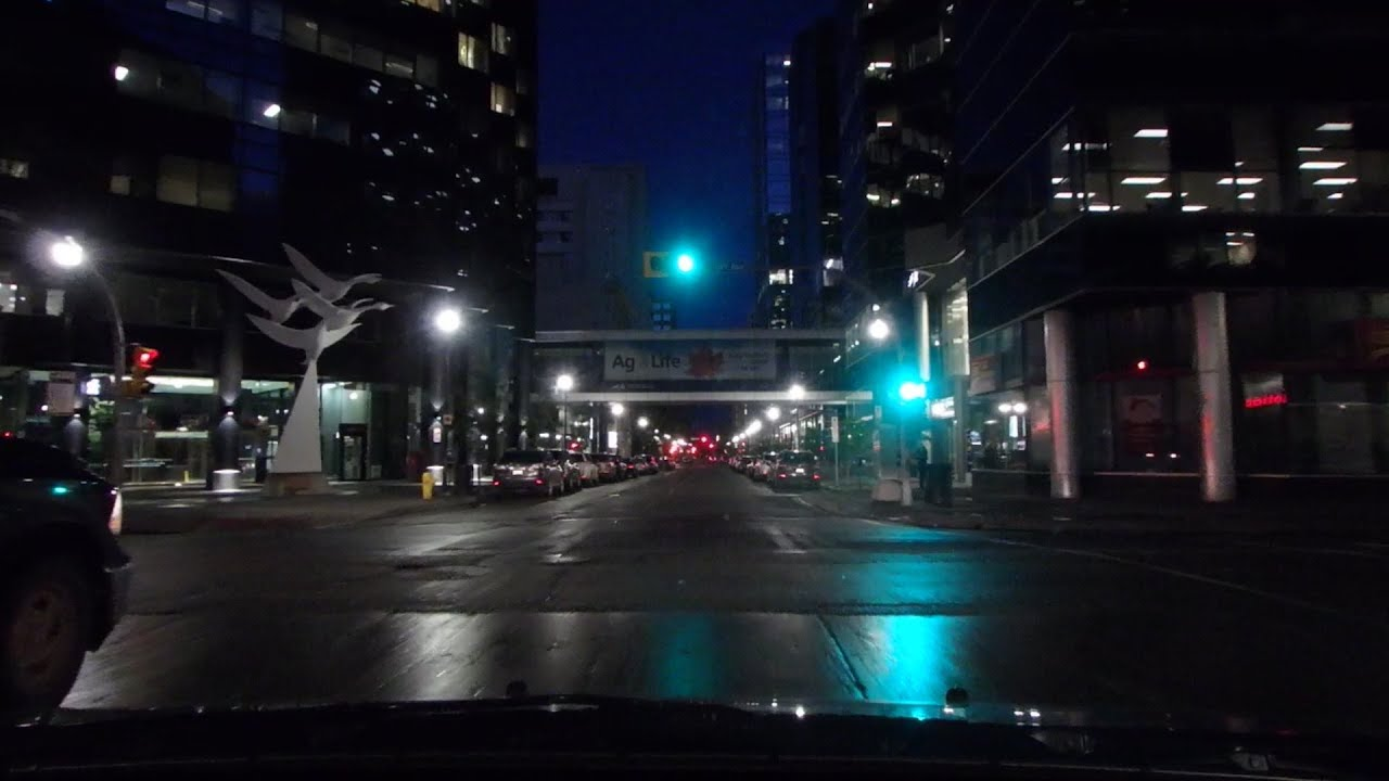 2016-05-31 Regina Today Downtown Night Testing Olympus