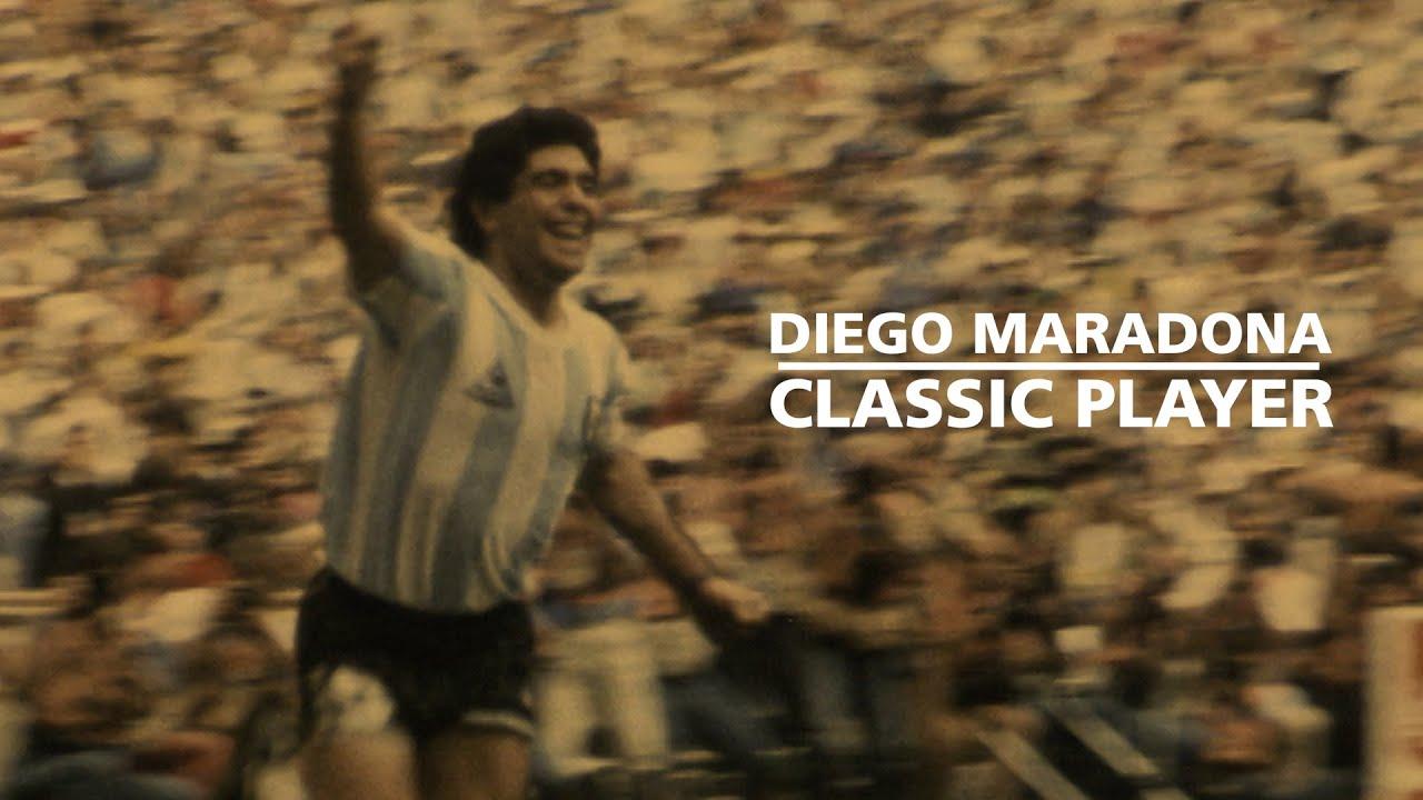 Diego Maradona, Argentinian soccer legend and celebrated 'Hand ...