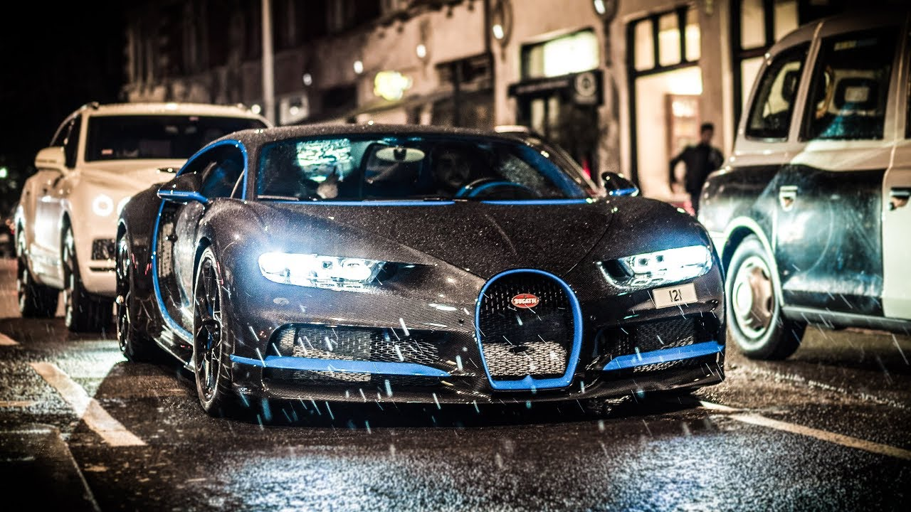 Brand New Bugatti Chiron In London With A 500k Full Carbon Paintjob