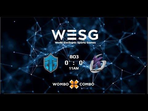 Entity Gaming vs Keen Gaming Game 1 (BO3)   WESG 2017 APAC Qualifiers