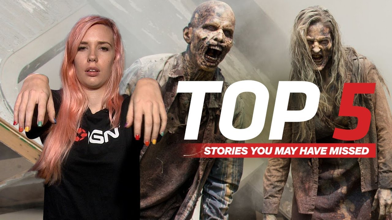 AMC's Walking Dead Dad Mad at Showrunner – IGN Daily Fix
