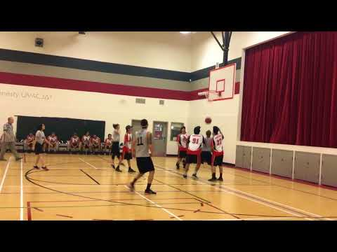Pik EBS Staff vs High School boys basketball team 1/4