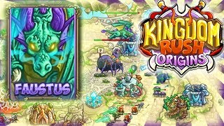 KONIEC SERII ??? | SMOK FAUSTUS | #014 | Kingdom Rush Origins | PL