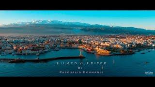 Chania, Crete | An Aerial Journey | 4K
