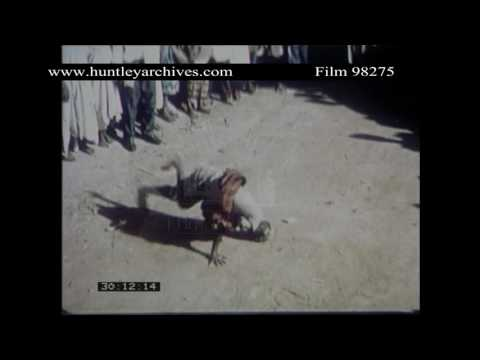 Celebratory Dancing, Kaduna, Northern Nigeria, 1959.  Archive film 98275