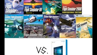 Microsoft Flight Simulator and Windows 10 Compatibility