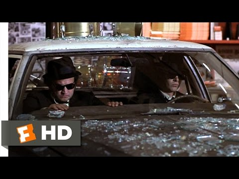 The Blues Brothers (1980) - Mall Chase Scene (2/9) | Movieclips