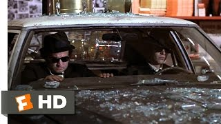 Mall Chase The Blues Brothers 2 9 Movie CLIP