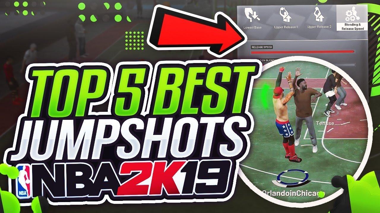 NBA 2K19 TOP 5 BEST JUMPSHOTS – 100% MORE GREENLIGHTS! – NBA