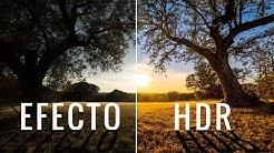 Efecto HDR con UNA sola FOTO