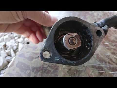 Ford Sierra Проверка и замена термостата #FordSierra