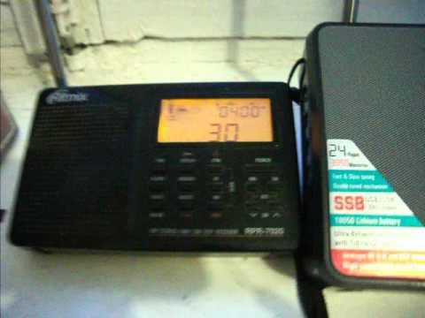 Сравнение DEGEN DE-1103 и RITMIX RPR-7020 - YouTube