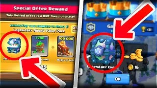2 WAYS TO OBTAIN THE LEGENDARY CHEST!! | NEW Clash Royale September Update!!